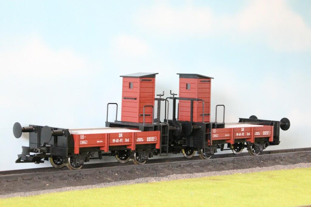 Boerman Rollbock-Bremswagen DR oder HSB mit Bremserhaus, Spur G